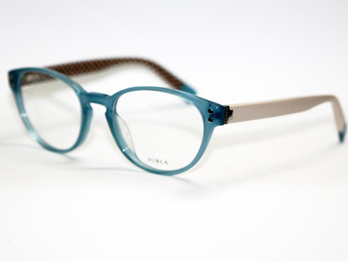 acquista per ufficiale moderno ed elegante nella moda pregevole fattura Occhiali da vista Montatura Furla Linda VU4910