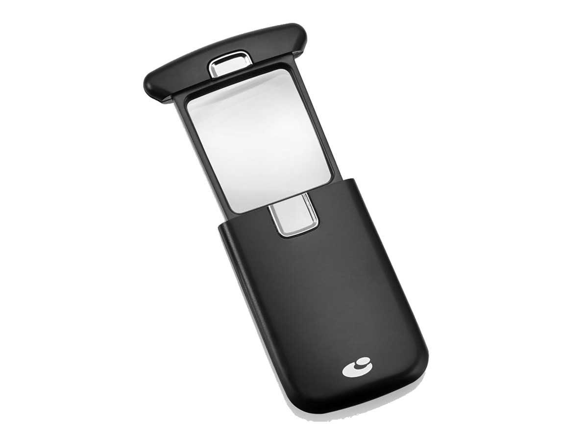 lente tascabile con luce led